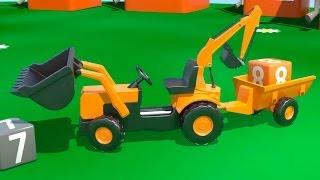 Çizgi film - İş Makineleri - Multi Traktör Bölüm 6 (Sayılar öğreniyoruz)