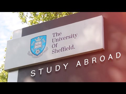 Study Abroad at the University of Sheffield