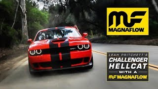 Leah Pritchett's Challenger Hellcat with Magnaflow Exhaust