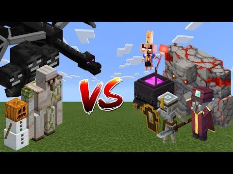 Minecraft vs Minecraft