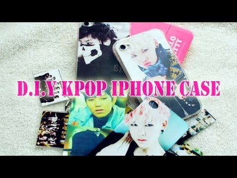 D I Y Kpop Iphone Case Youtube
