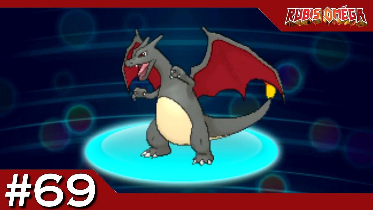Pokémon Rubis Oméga Distribution Dracaufeu Shiny 69