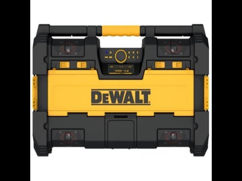 Dewalt Tough System Radio and Charger DWST08810 Review