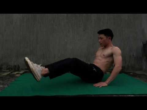 3 Effective Abdominal Exercises (3 bài tập bụng hiệu quả) ABS WORKOUT|NO GYM