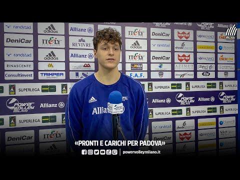 Superlega, intervista pre Milano - Padova di Matteo Meschiari
