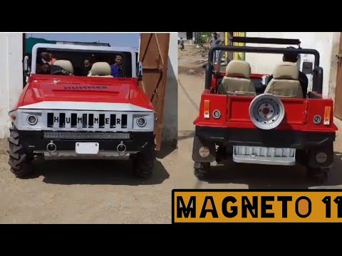 modified maruti 800 | maruti 800 to Mini Hummer | MAGNETO11