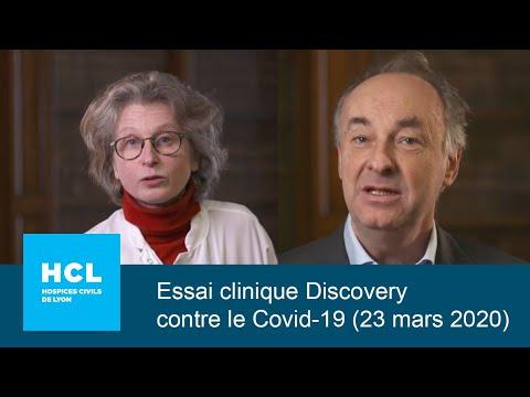 Essai clinique Discovery contre le Covid-19 - HCL