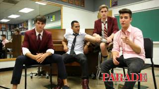 PARADE: Big Time Rush Cover Shoot -- Aug. 5 Issue
