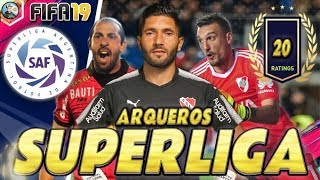 FIFA 19 | Superliga Argentina - TOP 20 OFICIAL Arqueros Ratings