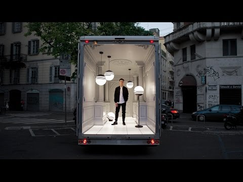 Lee Broom's Salone del Automobile installation arrives in Milan