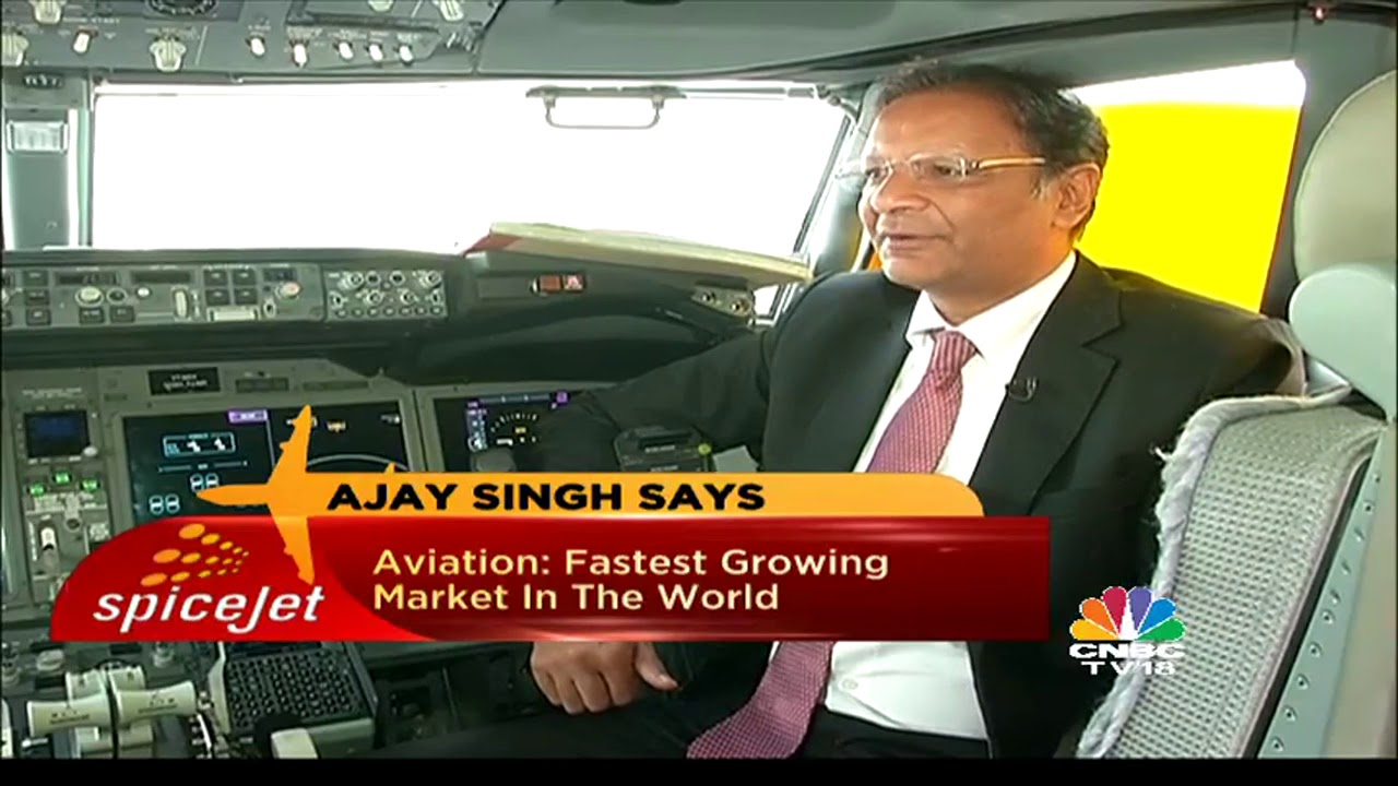 SpiceJet Taking Flight: Ajay Singh Exclusive Interview | Part 1| CNBC TV18
