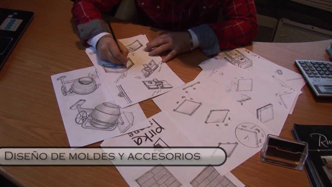 Moldes para la fabricación de piedra artificial, pisos y ...