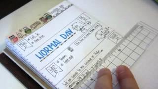 Midori Traveler's Notebook- Diary Weekly Update-WEEK 52-