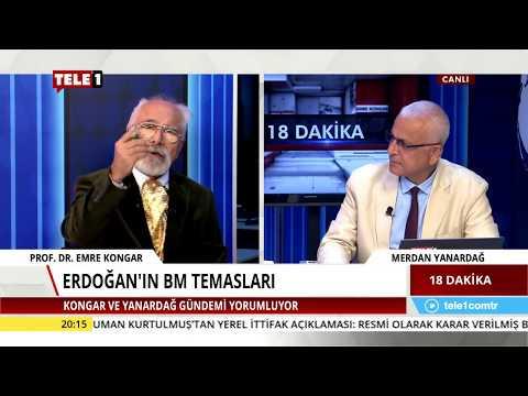 18 Dakika - Merdan Yanardağ & Emre Kongar (26 Eylül 2018) | Tele1 TV