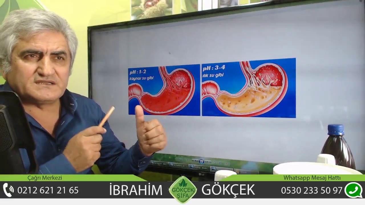 Mide Ülseri ve Gastrit İçin Kür