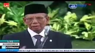 Jokowi JK Tertawa_Ceramah Lucu KH Ahmad Hasyim Muzadi