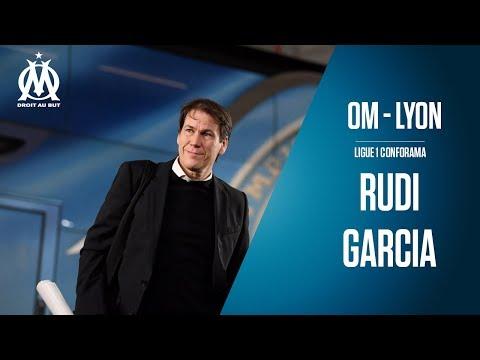 OM - Lyon la conférence de Rudi Garcia...