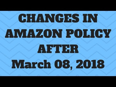 Amazon Tips: Easyship Shipping Policy update March 8 2018 explained by Vicky Kukreja
