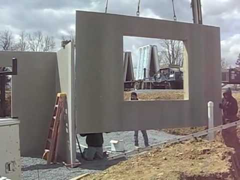 Superior Walls By Weaver Precast Youtube: precast concrete residential homes