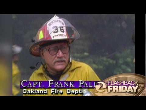 FLASHBACK FRIDAY: Oakland Hills Fire of 1991
