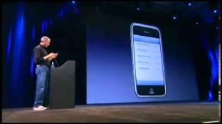 Стив Джобс презентация первого Apple Iphone!Видео на русском языке, 2007