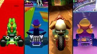 Evolution of Unique Courses in Mario Kart Games (1996-2019)