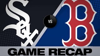Bogaerts' homer, Price leads Red Sox to win | White Sox-Red Sox Game Highlights 6/25/19