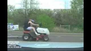Lawnmower Cop Police Fails