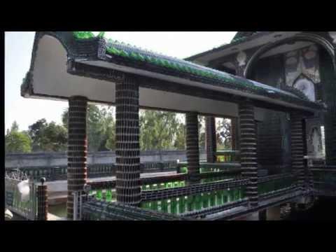 Храм из пивных бутылок