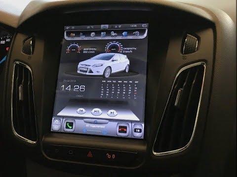 Штатная магнитола для Ford Focus 3 2012-2018 PX6 Tesla