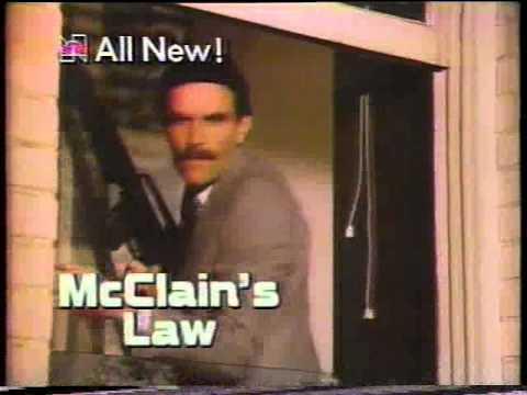 NBC Magazine McLain's Law & Cassie & Co. 1982