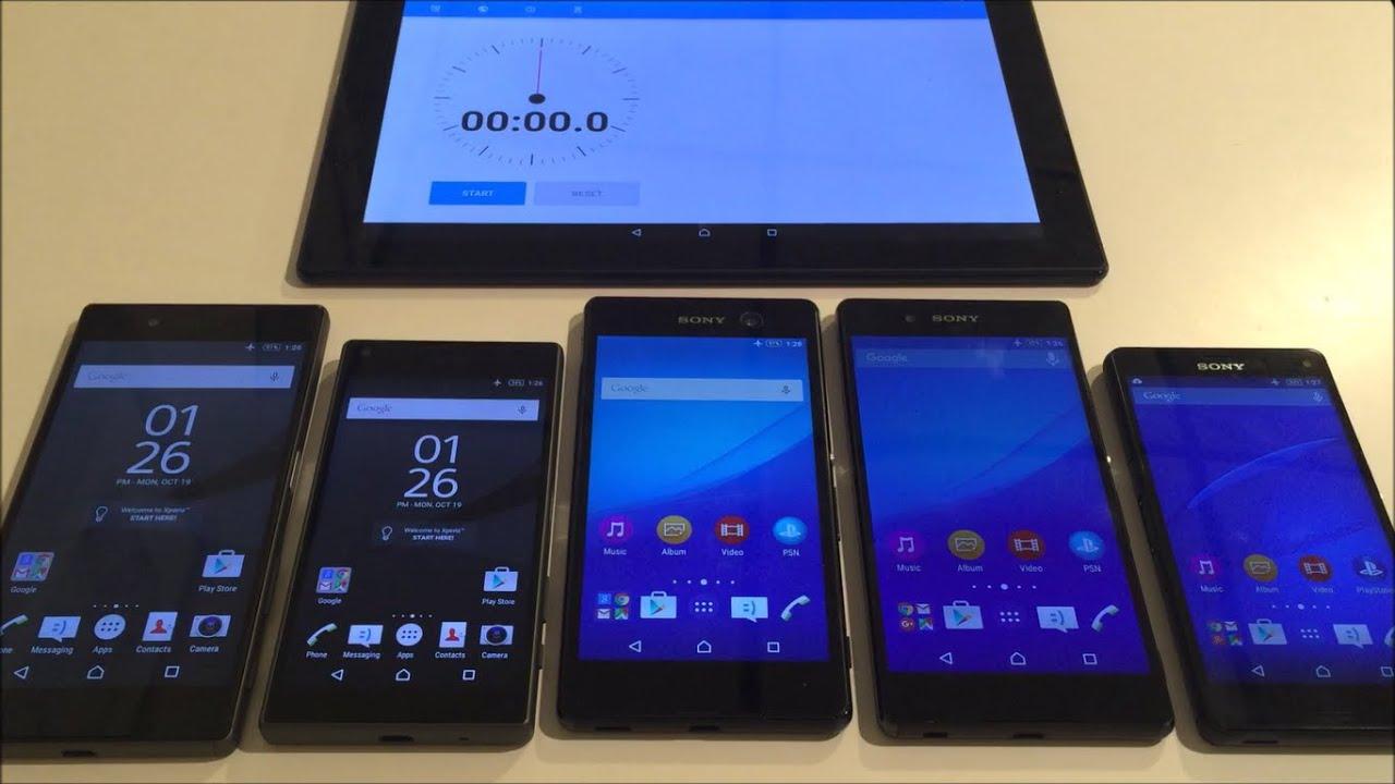 Sony Xperia Z5 Overheating TEST 4K Camera vs Z5 Compact ...