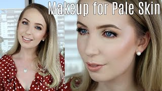 Current Pale Skin Favorites & Everyday Makeup Routine