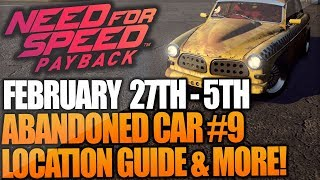Need For Speed Payback Abandoned Car #9 - Location Guide + Gameplay - VOLVO AMAZON P130 NFS Payback