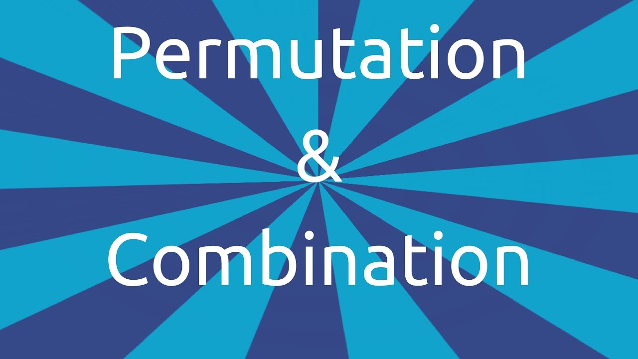 permutation and combination class 11 pdf