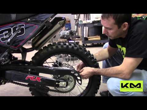 Apollo 250cc DB-36 Pit Dirt Bike Maintenance - YouTube