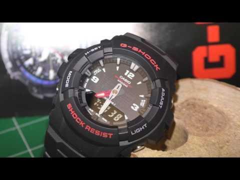 Обзор Часы Casio G-Shock G-100-1BMJF