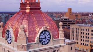 Copper Dome Restoration of Brown County Courthouse, Green Bay, WI