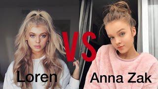 Loren Gray VS Anna Zak Musical.ly Battle Compilation 🔥