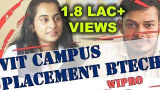 Interview begins 4:03   VIT Campus Placement Interview   Wipro   Nishant Kumar   BTech Job Interview