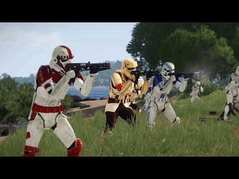 EPIC ARMA - STAR WARS VS ZOMBIES