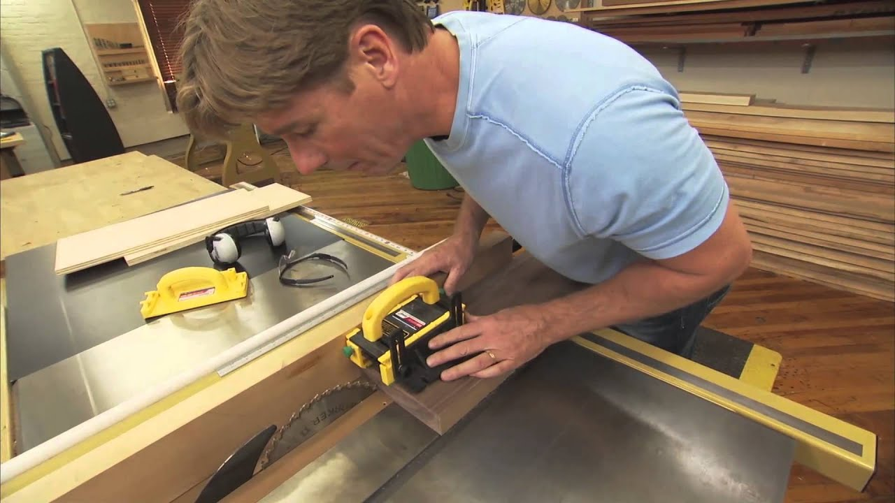 The secret to cutting thin strips on a table saw with tommy mac the secret to cutting thin strips on a table saw with tommy mac keyboard keysfo Images