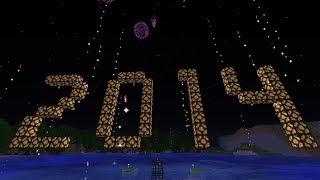 Minecraft: 2014 Fireworks | Happy New Year!