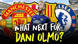 What's Next For Dani Olmo? Manchester United? Chelsea? Barcelona?