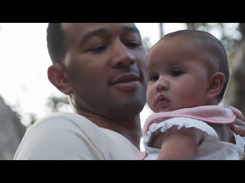 EXCLUSIVE: John Legend Opens Up About Filming Baby Luna For His 'Love Me Now' Music Video