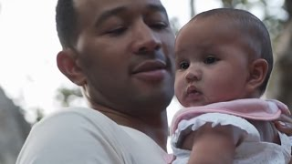 EXCLUSIVE: John Legend Opens Up About Filming Baby Luna for His