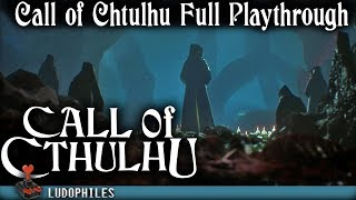 Call of Cthulhu - Full Playthrough Both Endings /Longplay / Walkthrough (no commentary)