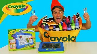 Crayola Magic Scene Creator ! ||  Toy Review || Konas2002
