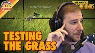 Testing the Grass Length on Erangel Remastered - chocoTaco PUBG Gameplay