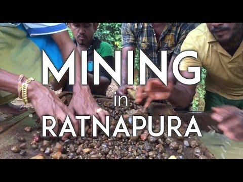 Gemstone mining in Ratnapura, Sri Lanka with Yavorskky